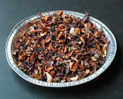 Parings of lobster mushrooms, dried and ready to use