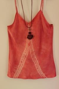 Mushroom-dyed camisole