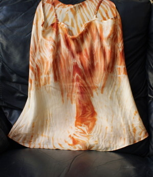 Camisole with lobster, back